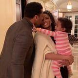 Watch Ciara and Russell Wilson's Tiny Daughter Stop Them From Kissing Over and Over Again