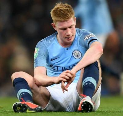 De Bruyne facing at least one month out with knee injury