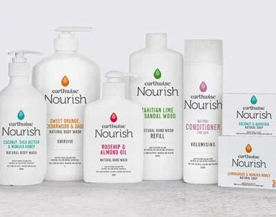 Be in to win an Earthwise Nourish Skin and Body range pack, valued at $75