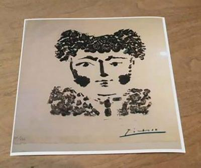 Picasso print worth $50K swiped from gallery