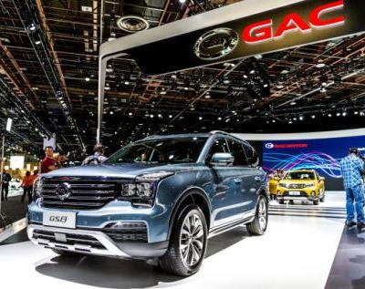 China's GAC, Which Has A Huge Display In Detroit, Aims To Sell Cars In The U.S. In 2019