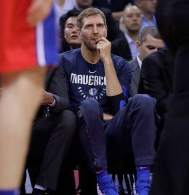 Nowitzki to miss Mavs' opener as left ankle rehab continues
