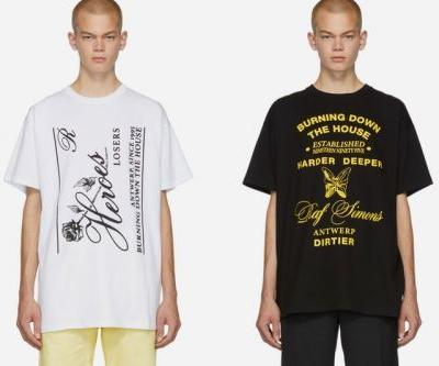 Raf Simons Drops Three Graphic-Heavy T-Shirts Dedicated to the City of Antwerp
