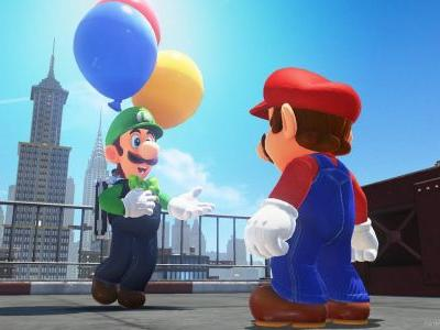 Super Mario Odyssey Update Now Available