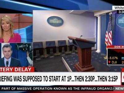 CNN is Not Happy WH Deputy Press Sec Raj Shah Showed Up Three Hours Late to Briefing