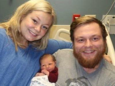 Wife Saves Husband's Life Right Before Giving Birth To Their Son