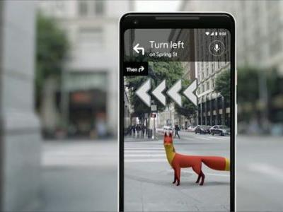 Google Maps AR Navigation Is Being Tested by Some Early Users