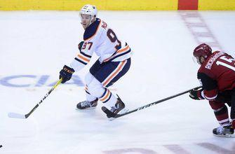 Coyotes squander early 2-goal lead, fall to Oilers