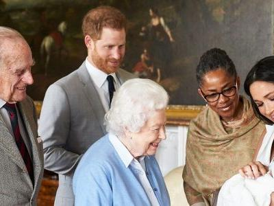 Grandmas Queen Elizabeth and Doria Ragland Meet Royal Baby Archie for the First Time