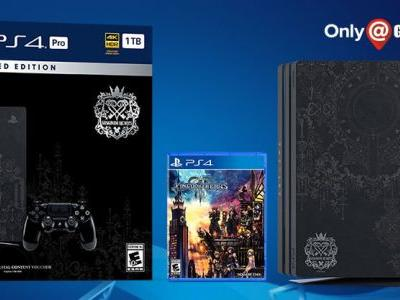 Kingdom Hearts III is getting a PS4 Pro bundle next month