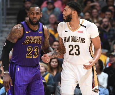 LeBron gives Anthony Davis first-hand look at what he can do