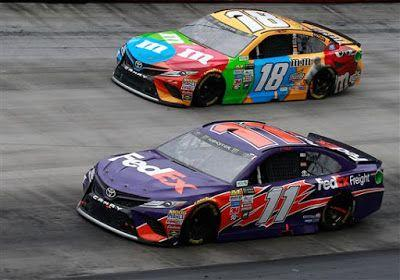 Denny Hamlin confident about winning at Bristol this weekend
