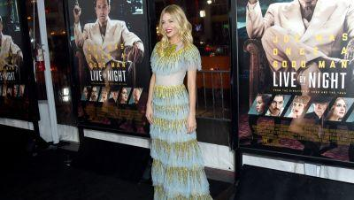 Sienna Miller Looked Like a Beautiful Tiered Gucci Cake