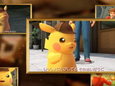 Detective Pikachu New Trailer Shows Off Hilarious Gameplay Footage