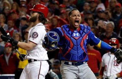 Cubs edge Nationals in Game 5 thriller to continue repeat quest