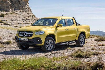 Mercedes-Benz Officially Debuts Its First-Ever Pickup