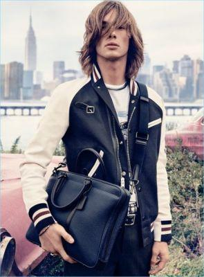 Coach Embraces Pebble Leather for Spring '17 Campaign
