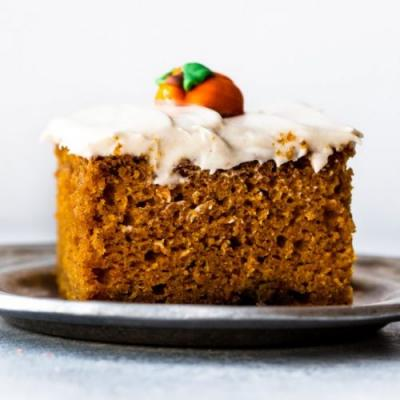 The Best Pumpkin Cake I've Ever Had