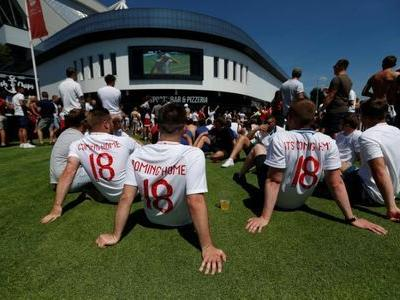 Spot the England fan: World Cup showdown attracts few supporters