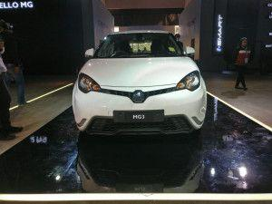 Auto Expo 2020 MG Motor India Reveals MG3 Hatchback