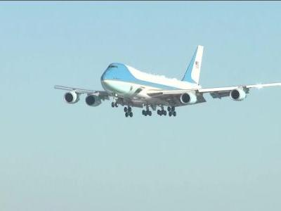 WATCH LIVE: President Donald Trump arrives in Pittsburgh on Air Force One