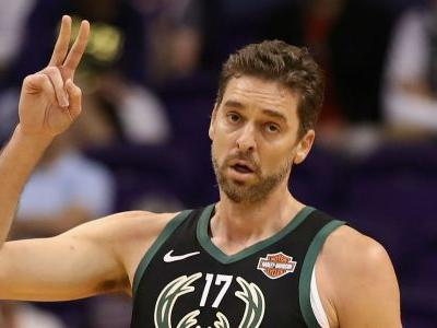 Pau Gasol injury update: Bucks lose another player as C will miss month with hurt ankle