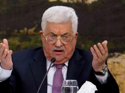 Palestinian president promises to 'slap back' on Trump's Middle East policy and refuses to accept a US-brokered peace deal
