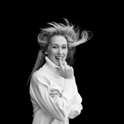 To the magnificent Meryl Streep: happy birthday. Photograph by