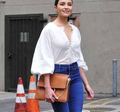 Turns Out Olivia Culpo Has A Thing For White Tops, Too