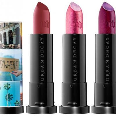 Urban Decay Born to Run Vice Lipsticks & 24/7 Eyeliners Launch June 19th