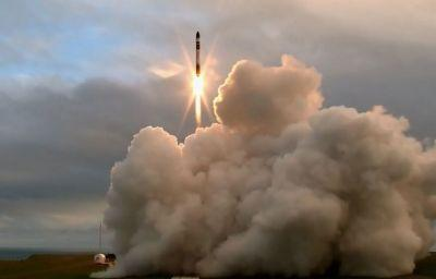 World's first orbital-class rocket launches from a private launch site