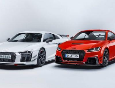Audi Shows TT Clubsport Turbo Concept and Performance Parts for R8 and TT