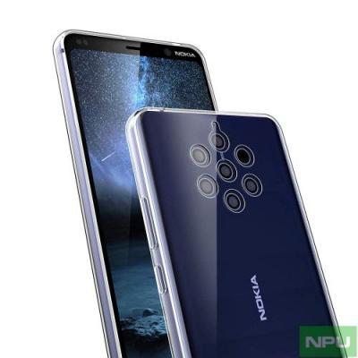 Nokia 9 PureView display size confirmed, size compared against Nokia 8. Images show side/bottom profiles