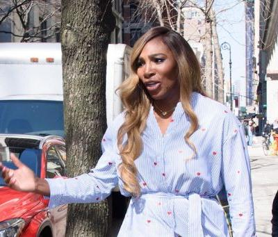 Not Cool, Mother Nature! Serena Williams Suffers Major Wardrobe Malfunction Thanks to NYC Wind