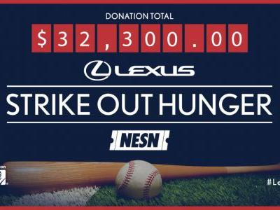 Lexus 'Strike Out Hunger' Program Returns In 2018 To Benefit Greater Boston Food Bank