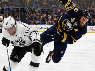 Kopitar, Amadio score 2 each in Kings win over Sabres