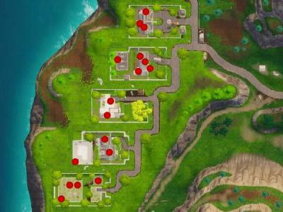 Fortnite: Search 7 chests in Snobby Shores