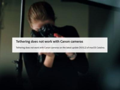 PSA: Canon Cameras Can't Tether with Lightroom in Latest Version of macOS