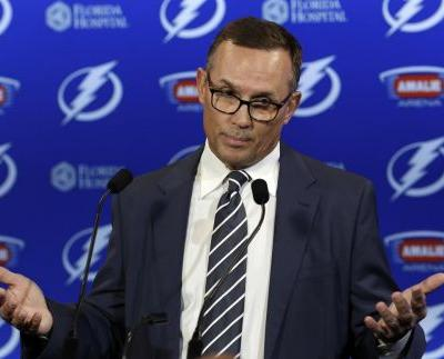 Steve Yzerman stuns hockey world by stepping down as Tampa Bay Lightning GM