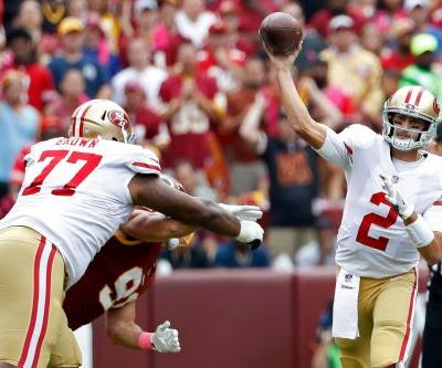 Brian Hoyer benched by 49ers, replaced by rookie C.J. Beathard