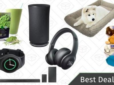 Saturday's Best Deals: JBL Headphones, Samsung Multi-Room Speaker, Dog Beds, and More
