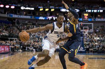 Mavericks hold Jazz to 22 in 2nd half, win 118-68 loss