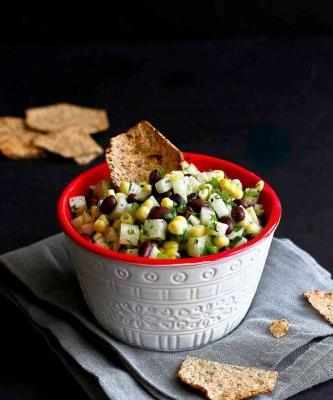 Jicama, Black Bean and Corn Salsa Recipe
