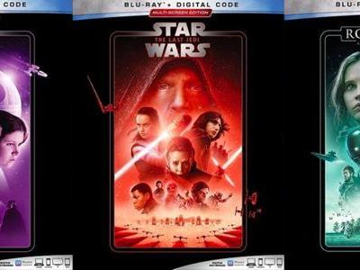 New 'Star Wars' Blu-ray Releases Coming Next Month, See the Cover Art Here