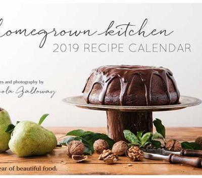 Be in to win one of five copies of Nelson foodie Nicola Galloway's new Homegrown Kitchen calendar, valued at $20 each