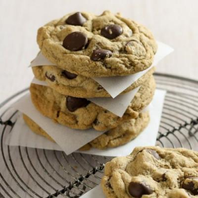 Cappuccino Chocolate Chip Cookies
