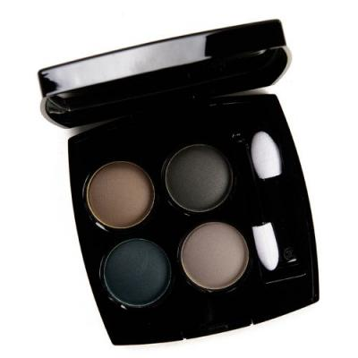 Chanel Blurry Blue (324) Eyeshadow Quad Review & Swatches