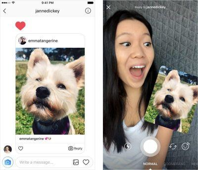 Instagram Introduces New Photo and Video Direct Message Reply Options