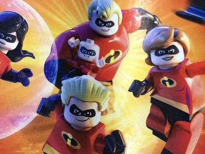 LEGO Incredibles leaks, I hope you can play as Incrediboy