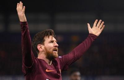 Champions League: Messi ends drought against Chelsea to give Barca draw